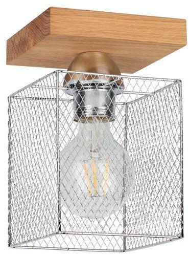 SPOTLIGHT lampa sufitowa NORMAN WOOD z metalowym kloszem 8175174