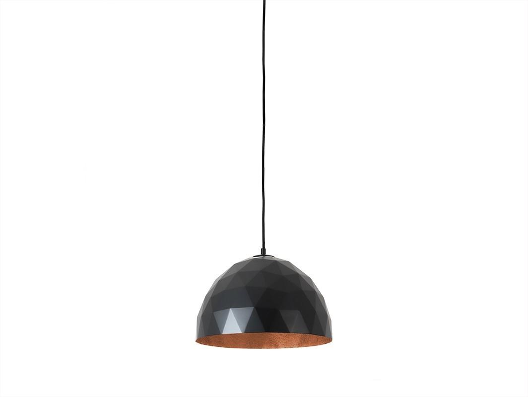 Lampa wisząca LEONARD M - miedziano-czarny - Customform