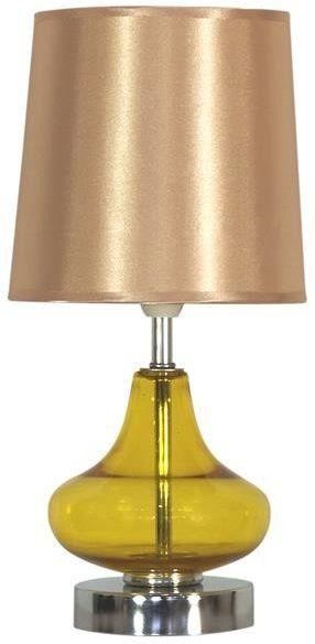 ALLADINA LAMPA 1X40W E14 BURSZTYN