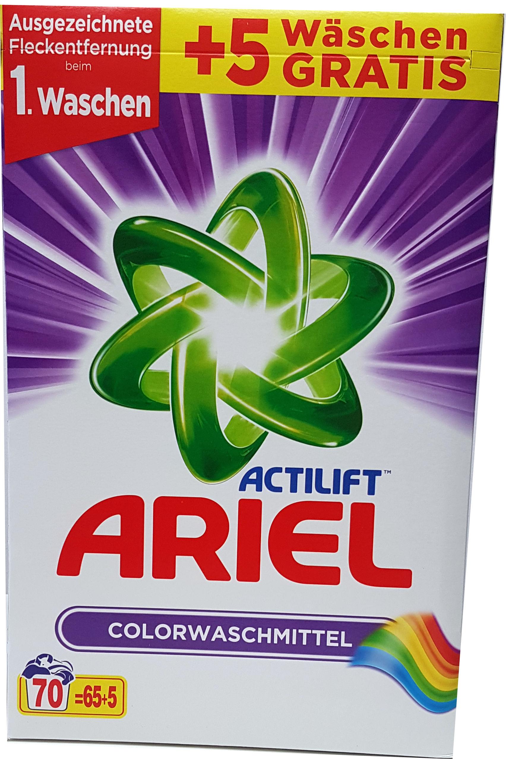 Ariel Actilift Color 4,55kg 70 prań