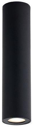 Kaspa - barlo - oprawa stropowa natynkowa 30, czarna