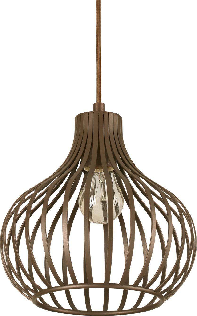 Lampa sufitowa Onion SP1 D23 205281 Ideal Lux nowoczesna oprawa sufitowa w kolorze brązowym
