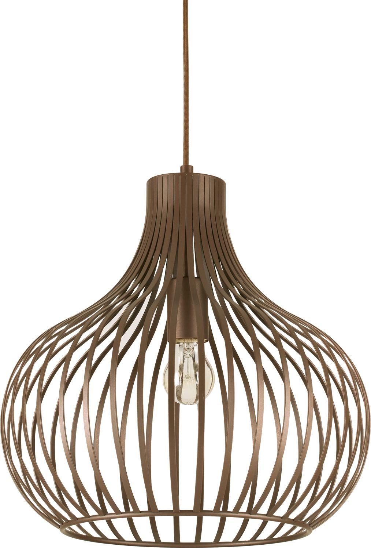 Lampa sufitowa Onion SP1 D38 205298 Ideal Lux nowoczesna oprawa sufitowa w kolorze brązowym