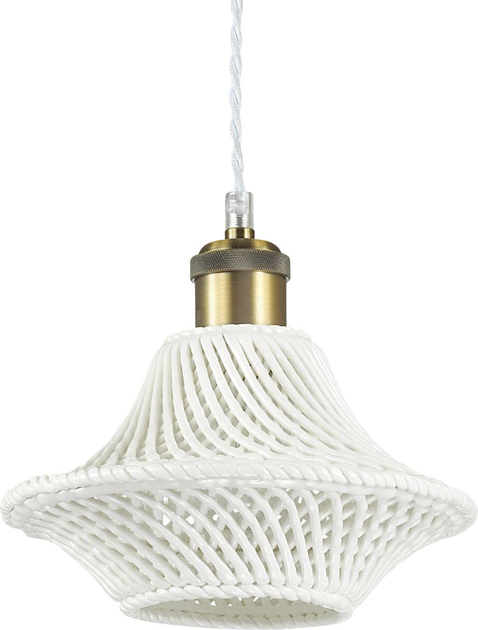 Lampa sufitowa Lugano SP1 D23 206806 Ideal Lux nowoczesna oprawa w kolorze białym