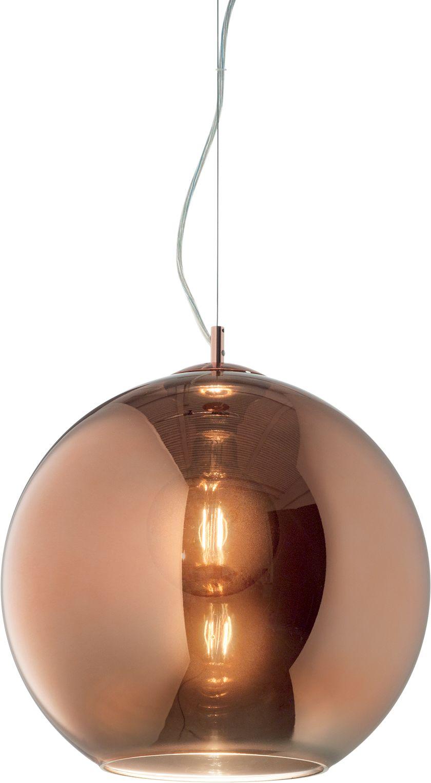Lampa wisząca Nemo 250328 Ideal Lux szklana oprawa w stylu design