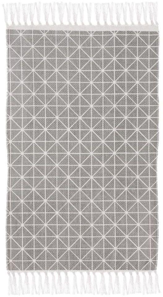Dywan bawełniany Cloe szary 50 x 80 cm Inspire