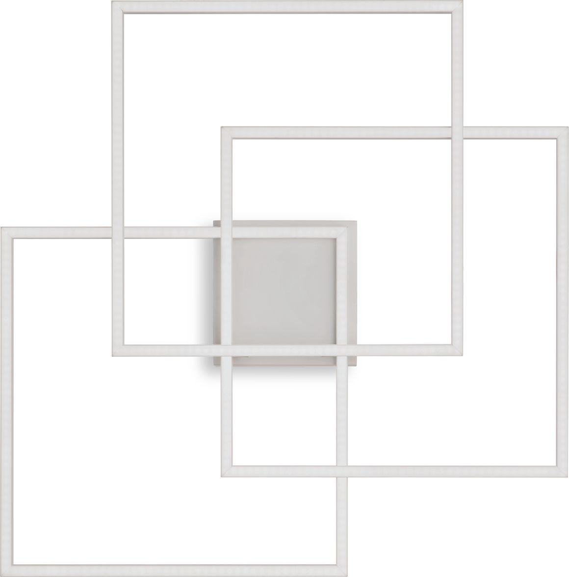 Plafon Frame 230702 Ideal Lux nowoczesna lampa sufitowa w kolorze białym