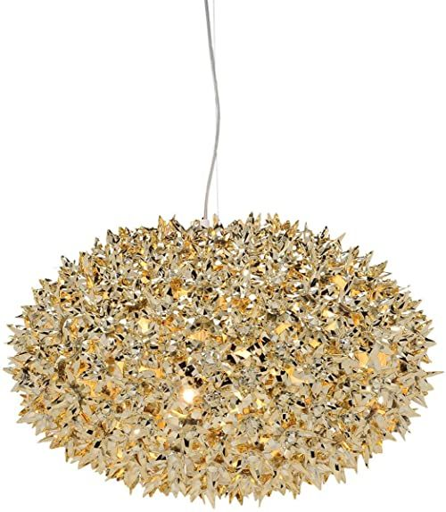 Kartell Lampa sufitowa Bloom, złota 9268GG