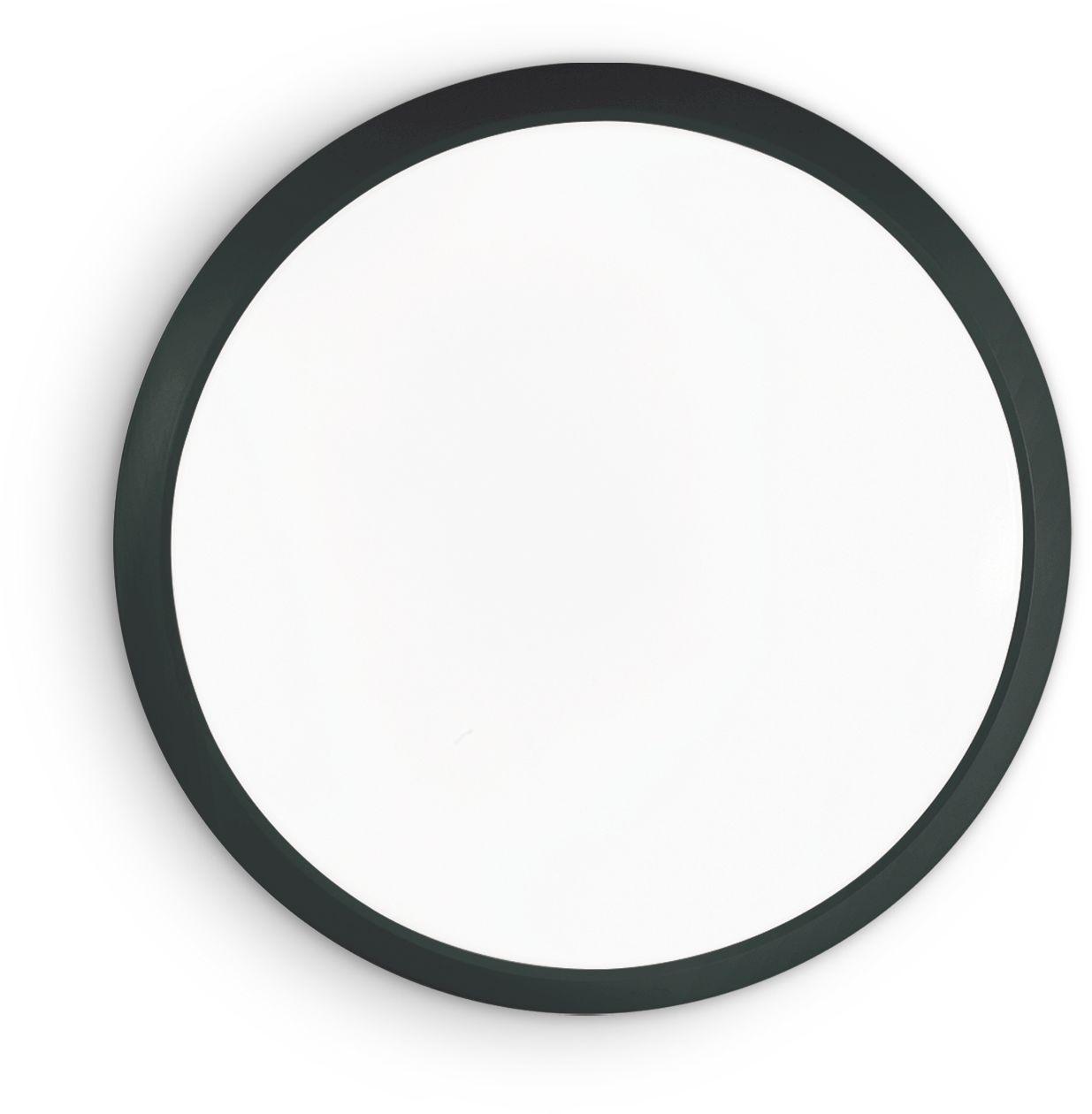 Plafon Gemma 252629 Ideal Lux lampa sufitowa w kolorze czarnym