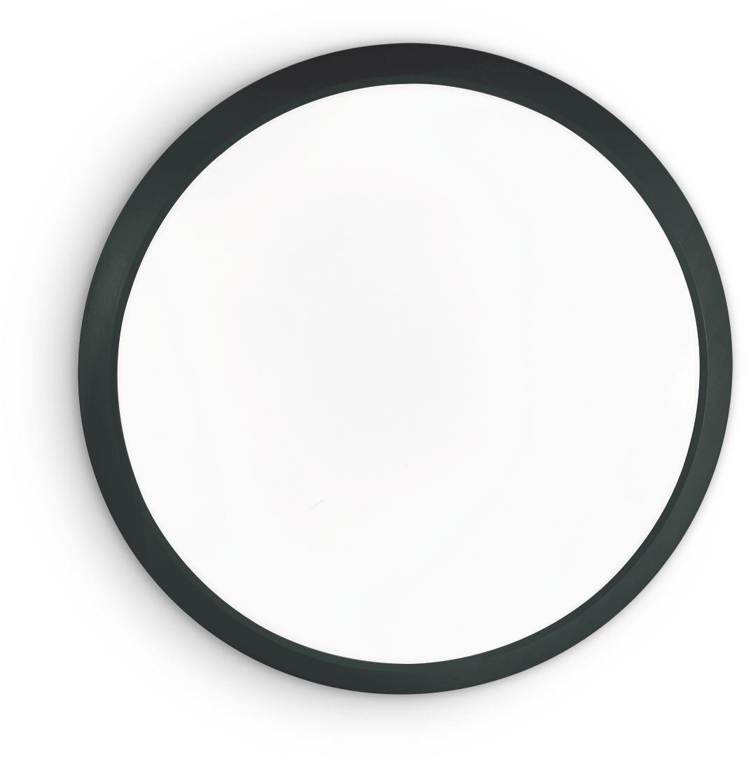 Kinkiet Gemma 252605 Ideal Lux lampa ścienna w kolorze czarnym