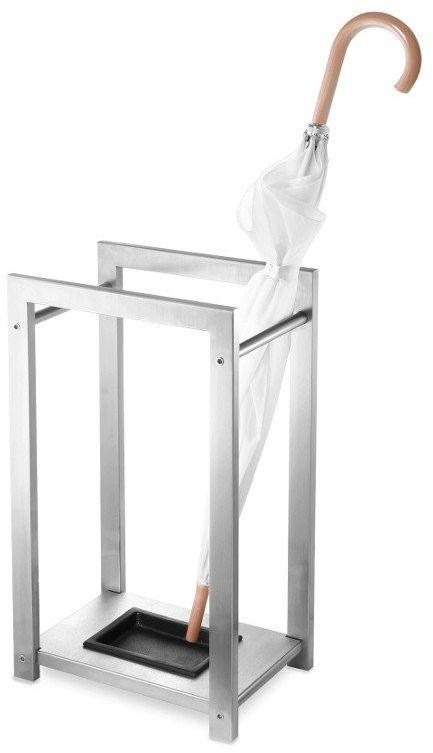 Zack - stojak na parasole atacio - stal nierdzewna matowa