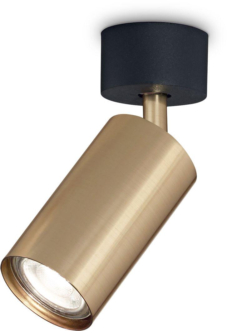 Reflektor kierunkowyy Dynamite 244662 Ideal Lux lampa sufitowa w kolorze złotym
