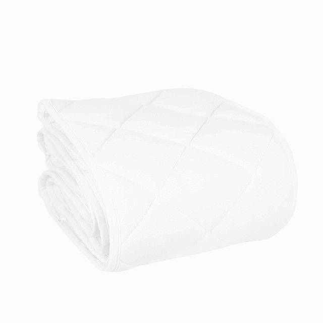 Effiki - Ochraniacz pikowany Biały na całe łóżeczko 70x140
