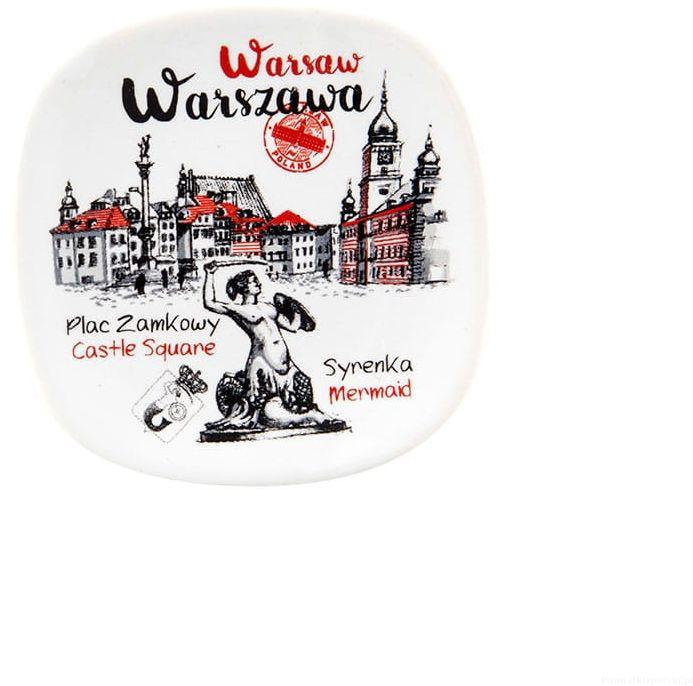 Magnes ceramiczny Warszawa Plac zamkowy oldbook