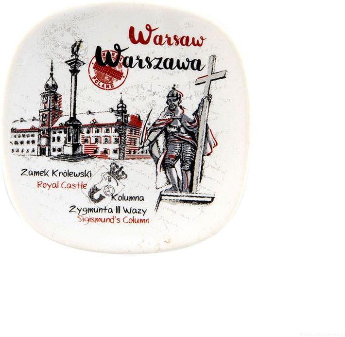Magnes ceramiczny Warszawa Zygmunt oldbook