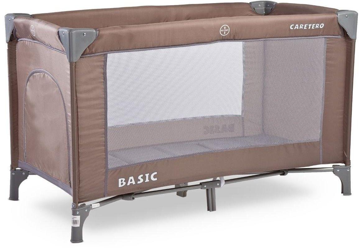 Łóżeczko turystyczne Caretero Basic Brown