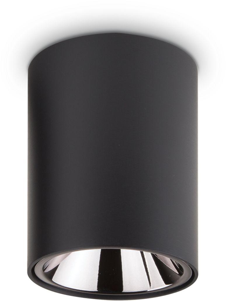 Plafon Nitro 10W Round 206004 Ideal Lux nowoczesna oprawa sufitowa w kolorze czarnym