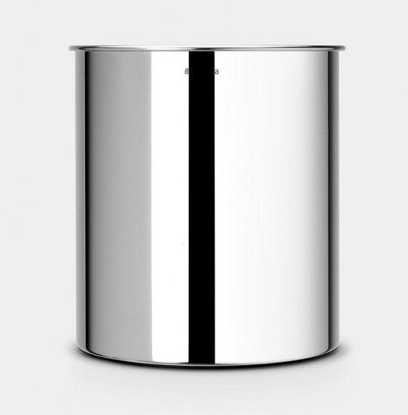 Kosz na papier 7L Brilliant Steel