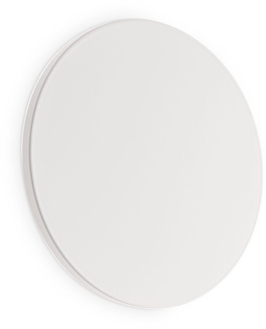 Kinkiet Cover AP1 Round Small 195704 Ideal Lux nowoczesna oprawa ścienna w kolorze białym