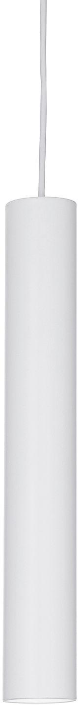 Lampa wisząca Tube SP1 Small 211459 Ideal Lux nowoczesna oprawa w kolorze białym