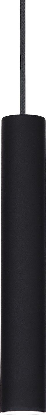 Lampa wisząca Tube SP1 Small 211466 Ideal Lux nowoczesna oprawa w kolorze czarnym