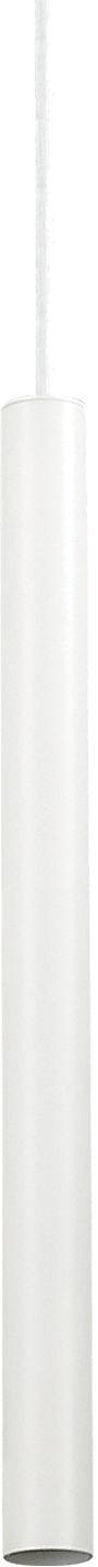 Lampa wisząca Ultrathin SP1 Small Round 156682 Ideal Lux nowoczesna oprawa w kolorze białym