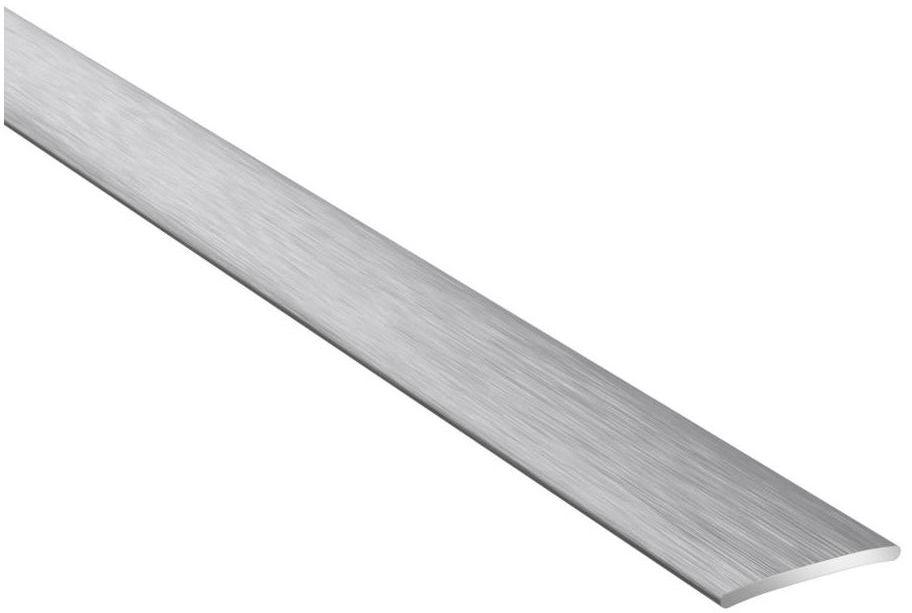 Profil podłogowy dylatacyjny No.37 Srebro szczotkowane 20 x 930 mm Artens