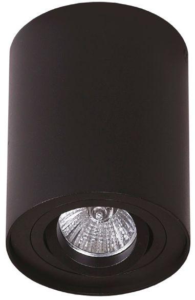 SUPER CENA! Plafon oprawa Basic Round I C0068 Maxlight czarna oprawa w nowoczesnym stylu