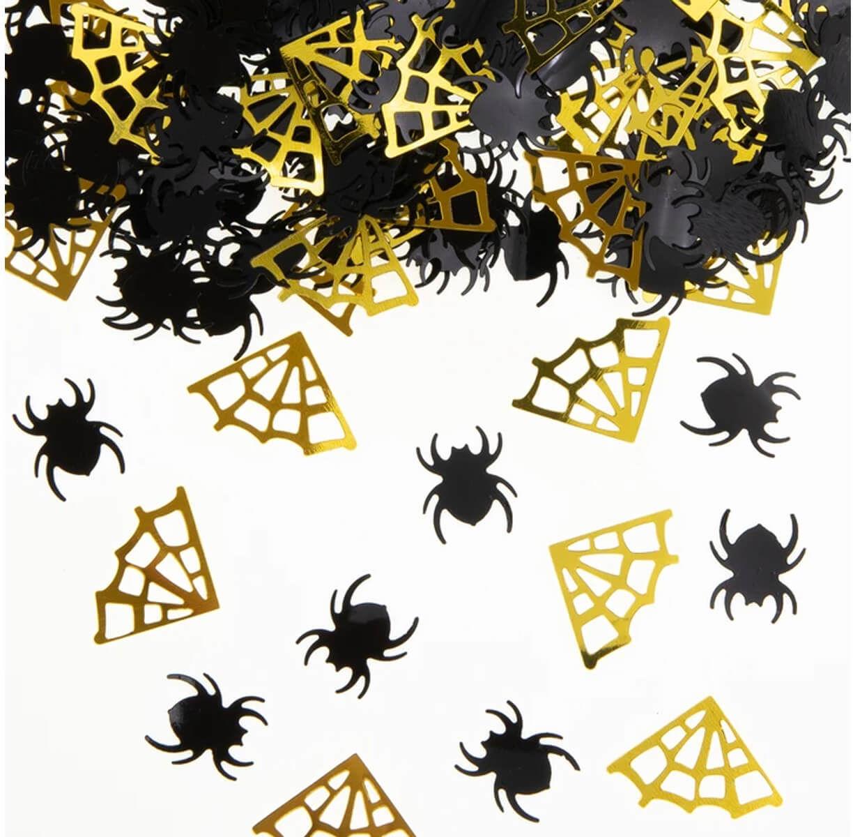 Konfetti Pająki i Pajęczyny na Halloween - 15 g
