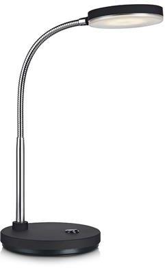 Lampa biurkowa Flex LED 106467 Markslojd czarna lampka biurkowa