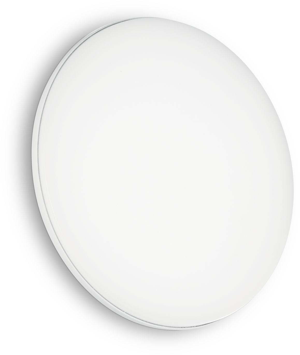 Plafon Mib PL1 Round 202945 Ideal Lux nowoczesna oprawa zewnętrzna w kolorze białym