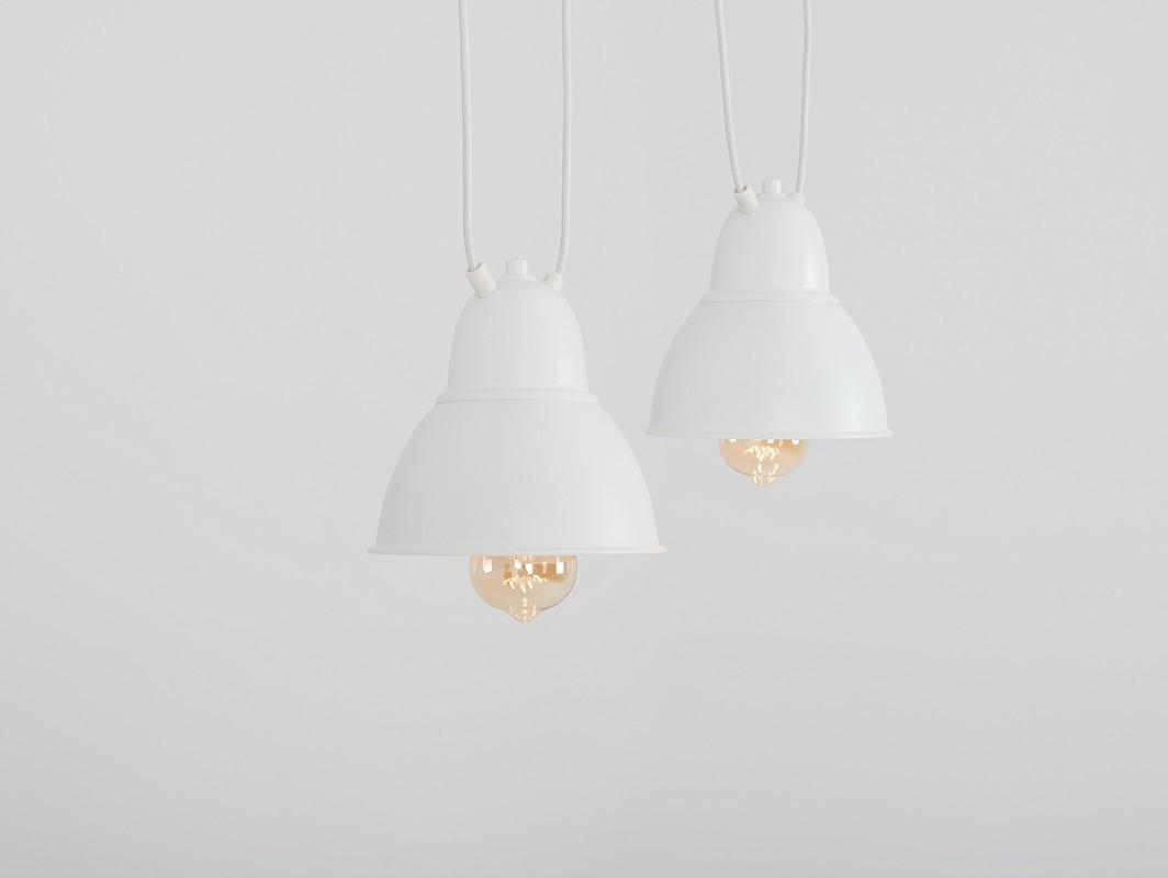Lampa wisząca COBEN HANGMAN 2 - biały - Customform