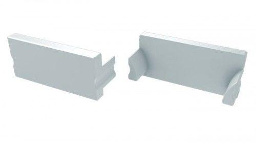 Zaślepka 1 sztuka do profili LED wpuszczanych TERRA - biała