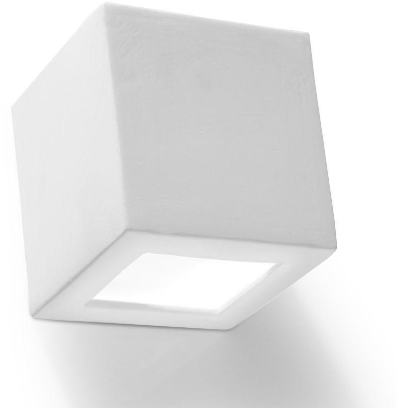 Kwadratowy kinkiet LED E707-Les