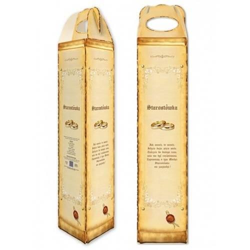 Pudełko na alkohol weselny - 1 szt.