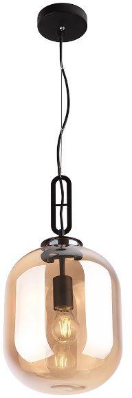 Lampa wisząca Honey P0297 MAXlight nowoczesna oprawa w kolorze szkła bursztynowego