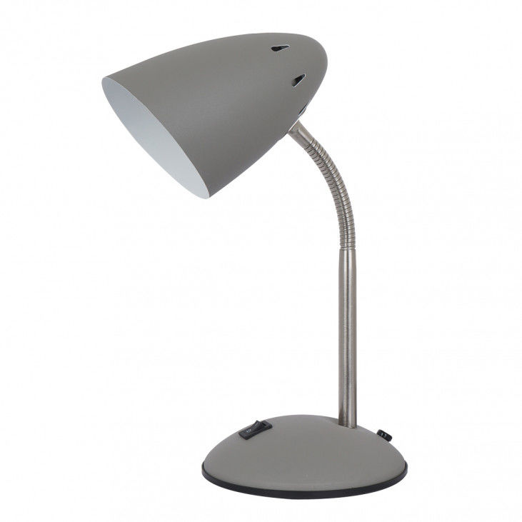 Lampa biurkowa Cosmic MT-HN2013-GR+S.NICK szara lampka na biurko