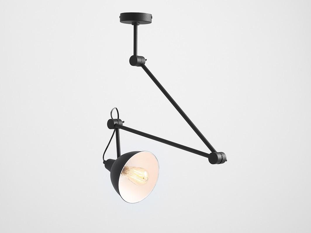 Lampa wisząca COBEN SUSPENSION - czarny - Customform