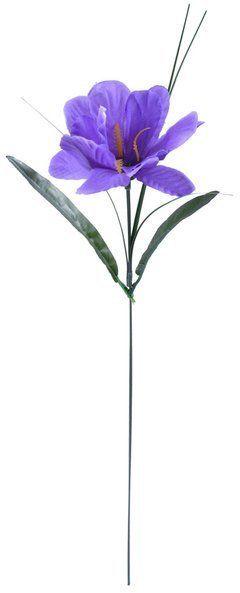Sztuczny irys dekoracyjny fioletowy gałązka 50 cm 1 sztuka VC2868