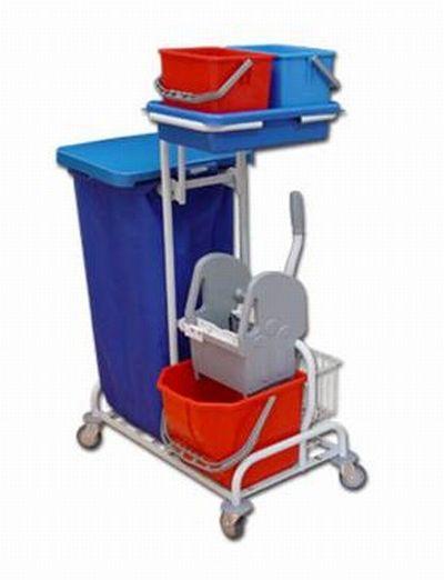 EURO Serwis 21 - wózek serwisowy do sprzątania