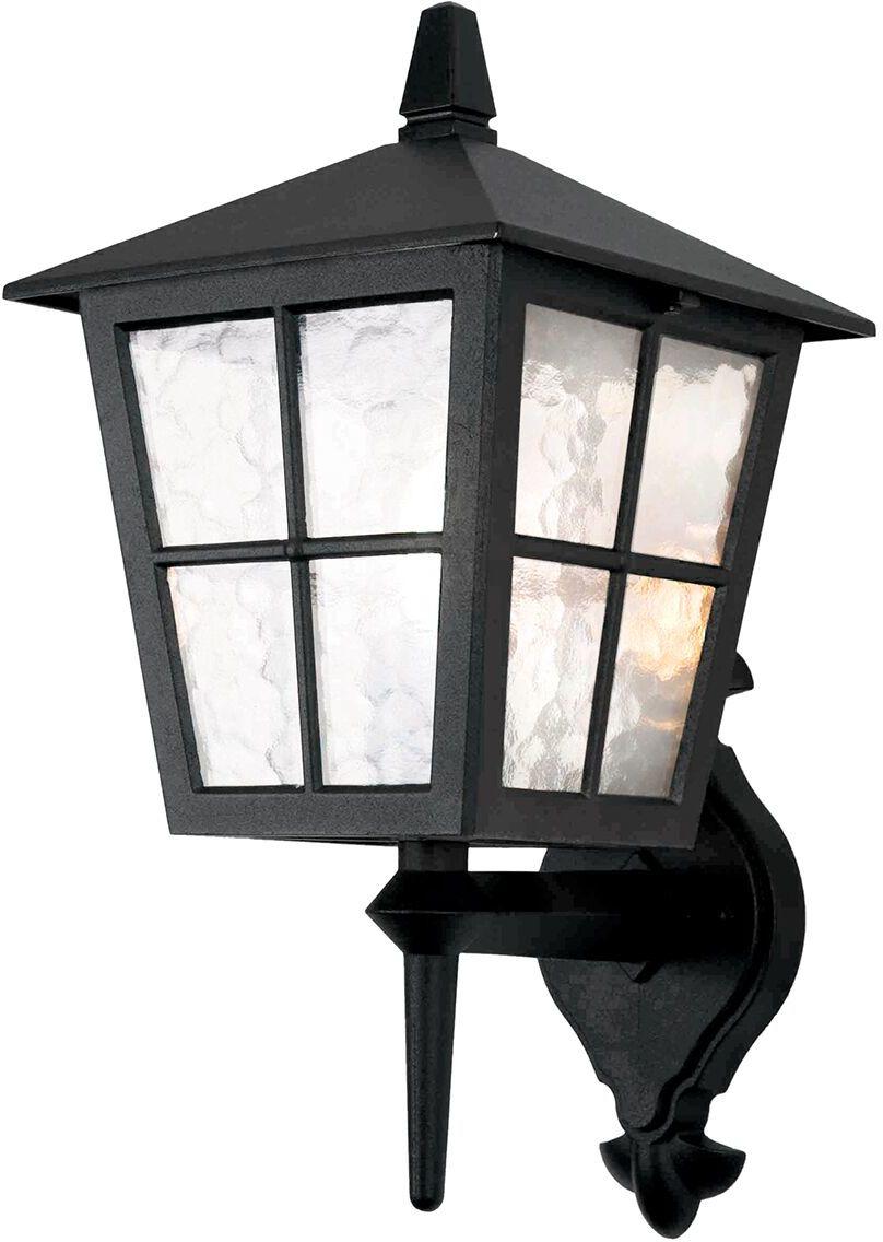 Kinkiet zewnętrzny Canterbury BL46M Elstead Lighting czarna oprawa zewnętrzna w klasycznym stylu