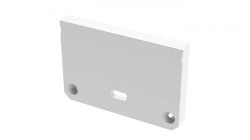 Zaślepka 1 sztuka do profilu nawierzchniowego Lumines ILEDO biała z otworem