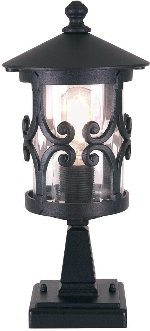 Lampa zewnętrzna stojąca Hereford BL12 Elstead Lighting klasyczna oprawa w kolorze czarnym