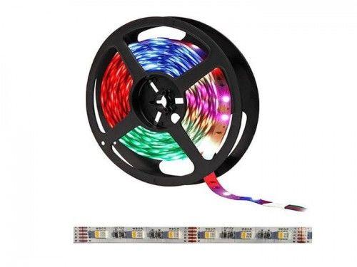 Taśma LED 300SMD5050 RGBWW IP20 RGB + biała ciepła - 1 metr