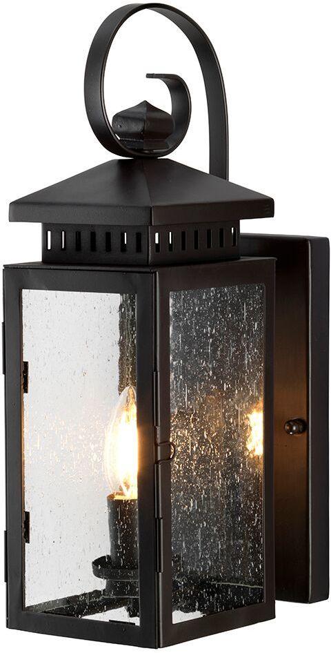 Kinkiet zewnętrzny Hythe Elstead Lighting klasyczna oprawa w kolorze antycznego brązu