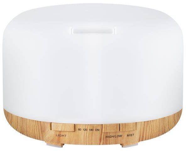 Aroma dyfuzor nawilżacz powietrza spa 03 light wood 500ml + timer