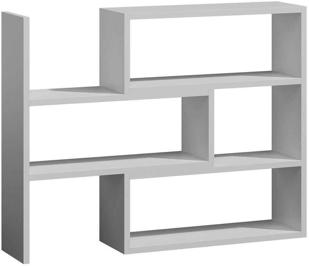 Regał półki Irvan 2X - biały