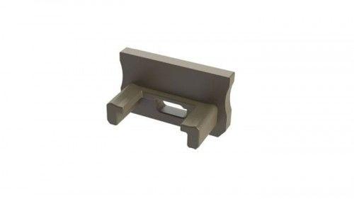 Zaślepka 1 sztuka do profilu nawierzchniowego Lumines typ A inox z otworem