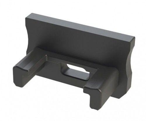 Zaślepka 1 sztuka do profilu nawierzchniowego Lumines typ A czarna z otworem