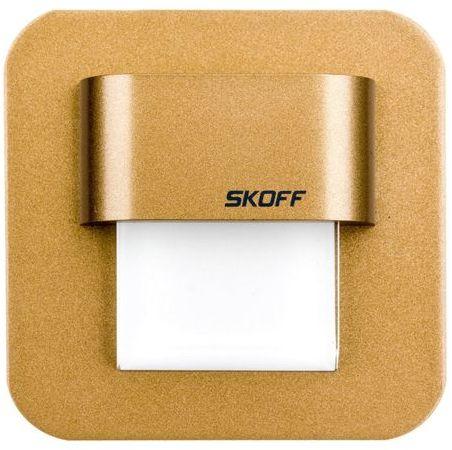 Oprawa LED 0,4W SALSA MINI STICK (mosiądz mat) / WW (ciepły biały) Aluminium + lakier IP56 MH-SMS-M-H-1-PL-00-01